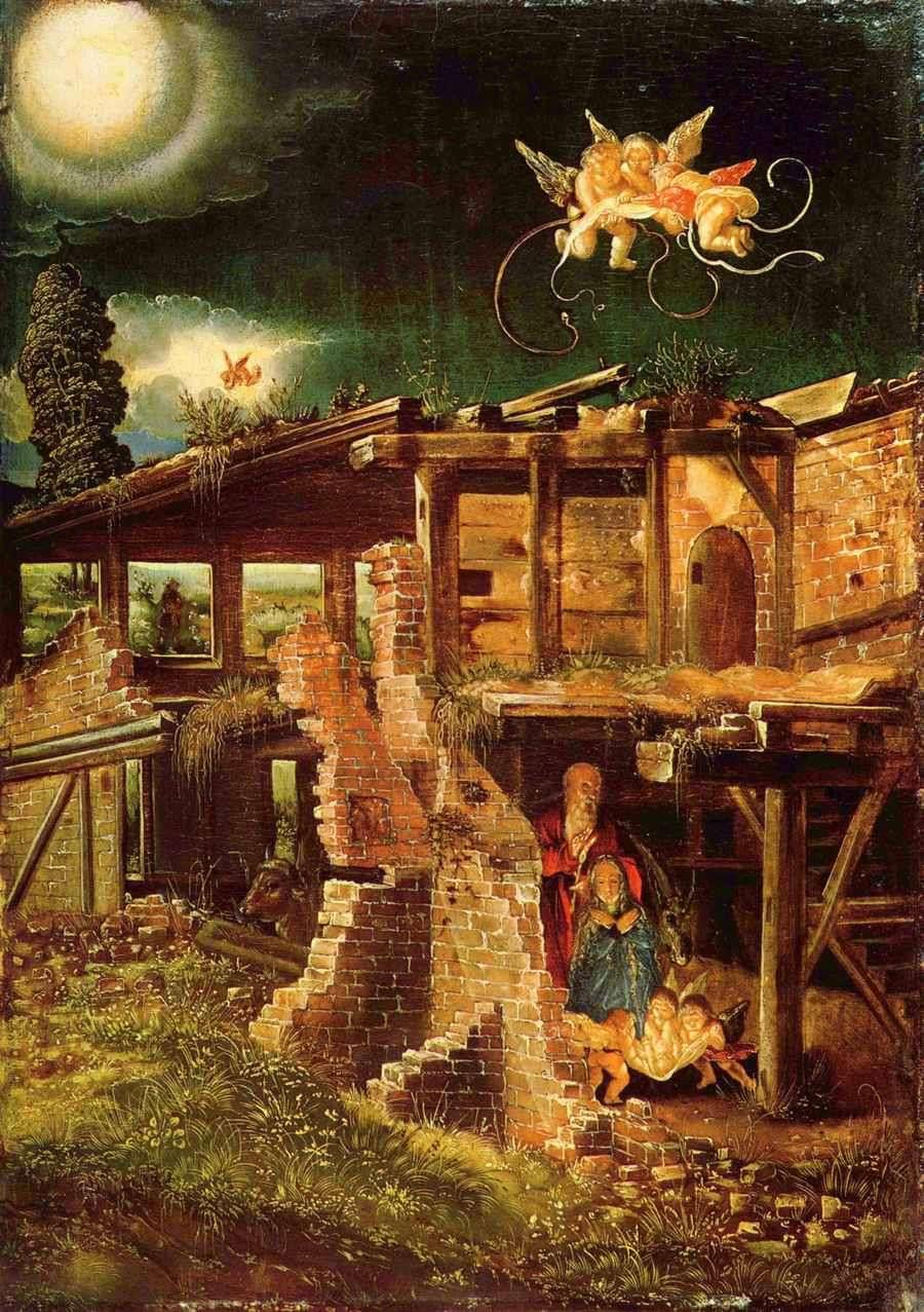 Obraz Altdorfera - Narodzenie