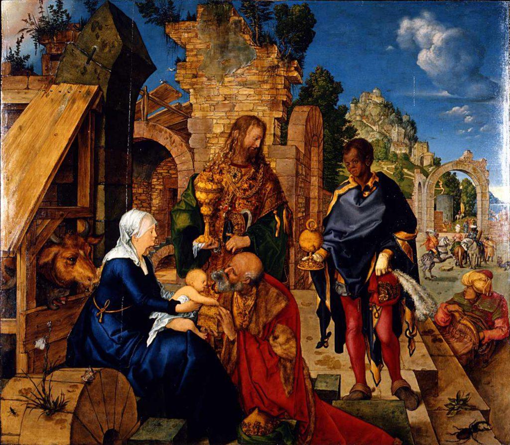 Durer - Hołd Trzech Króli