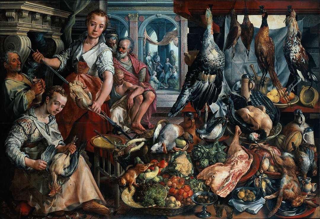 Bueckelaer - Kuchnia z Martą i Marią