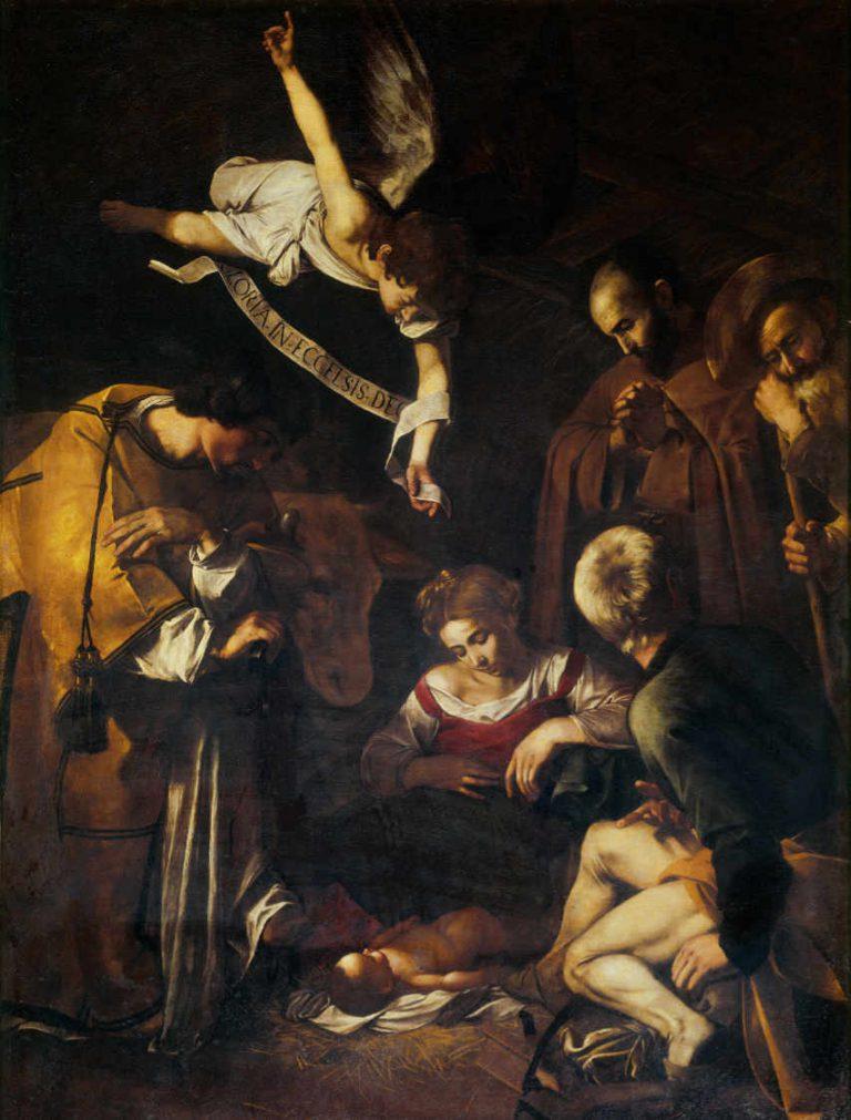 Obraz Caravaggio - Narodzenie Pańskie