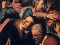 Chrystus wypędza przekupniów z świątyni