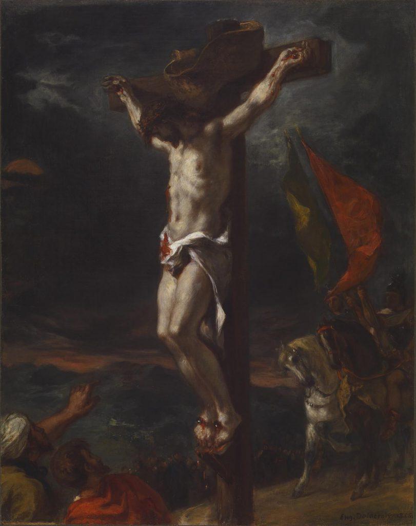 Chrystus na krzyżu - obraz Delacroix