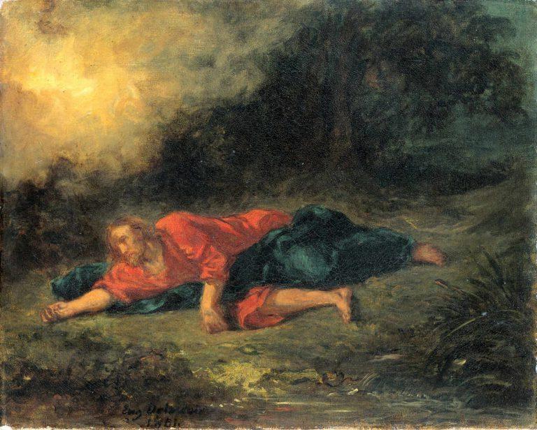 Delacroix - Modlitwa w Ogrójcu