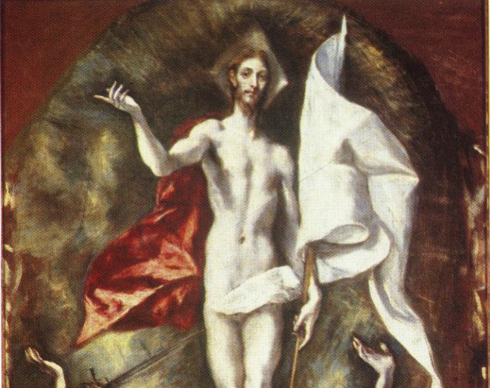 El Greco - Zmartwychwstanie - fragment