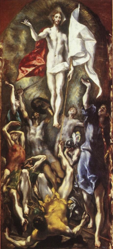 El Greco - Zmartwychwstanie