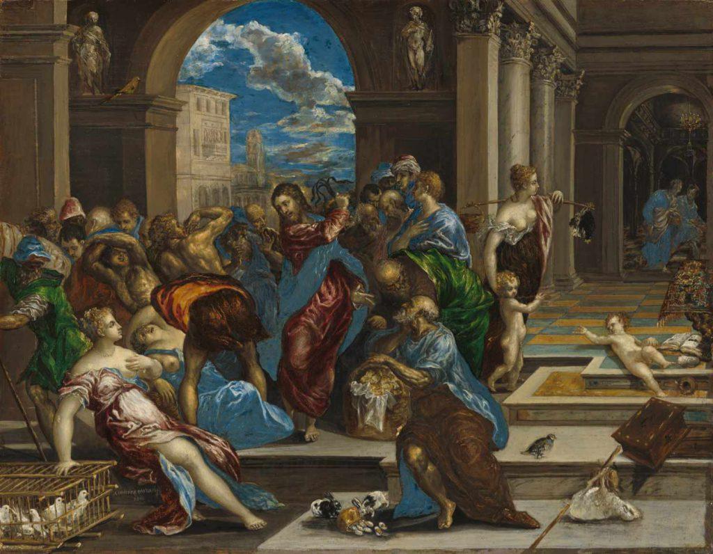 El Greco - Wypędzenie przekupniów z świątyni