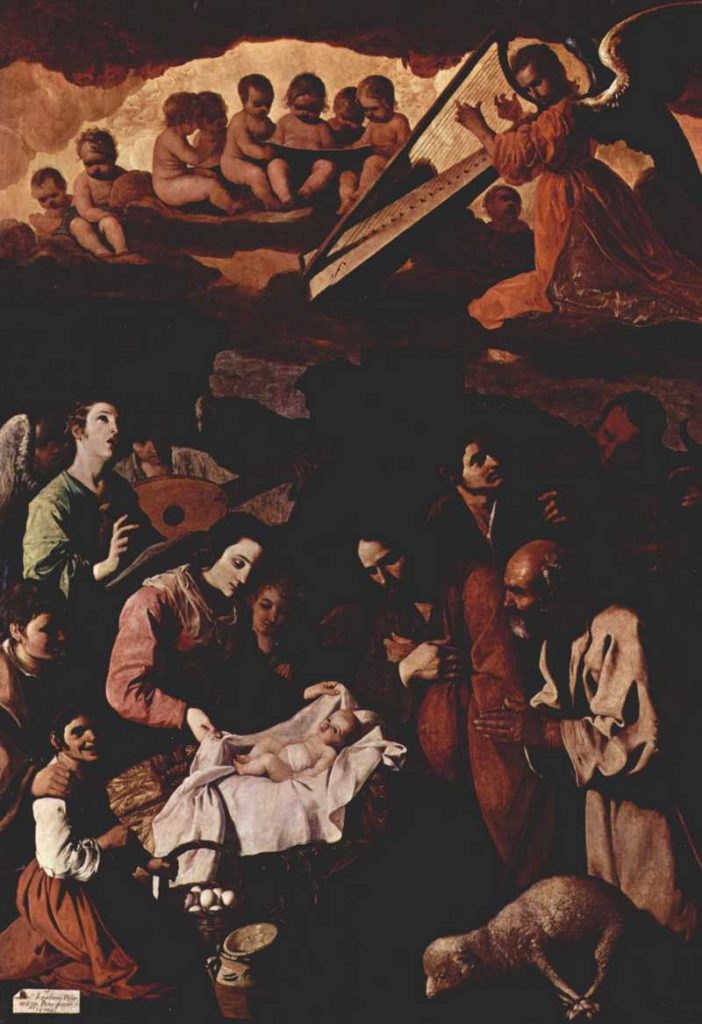 Zurbaran - The Adoration of the Shepherds