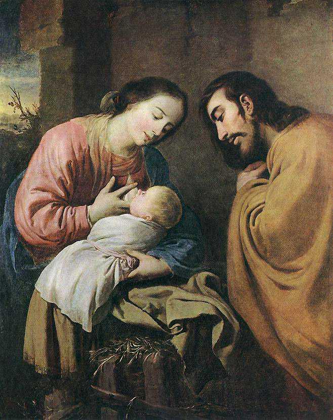 Zurbaran - Święta Rodzina