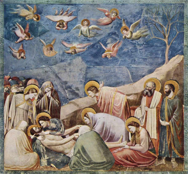 Fresk Giotto - Opłakiwanie