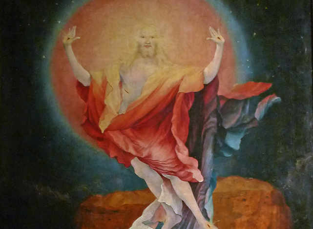 Zmartwychwstanie - GRÜNEWALD MATTHIAS
