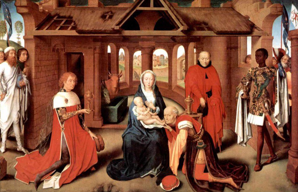 """Hans Memling - obraz """"Adoracja magów"""""""