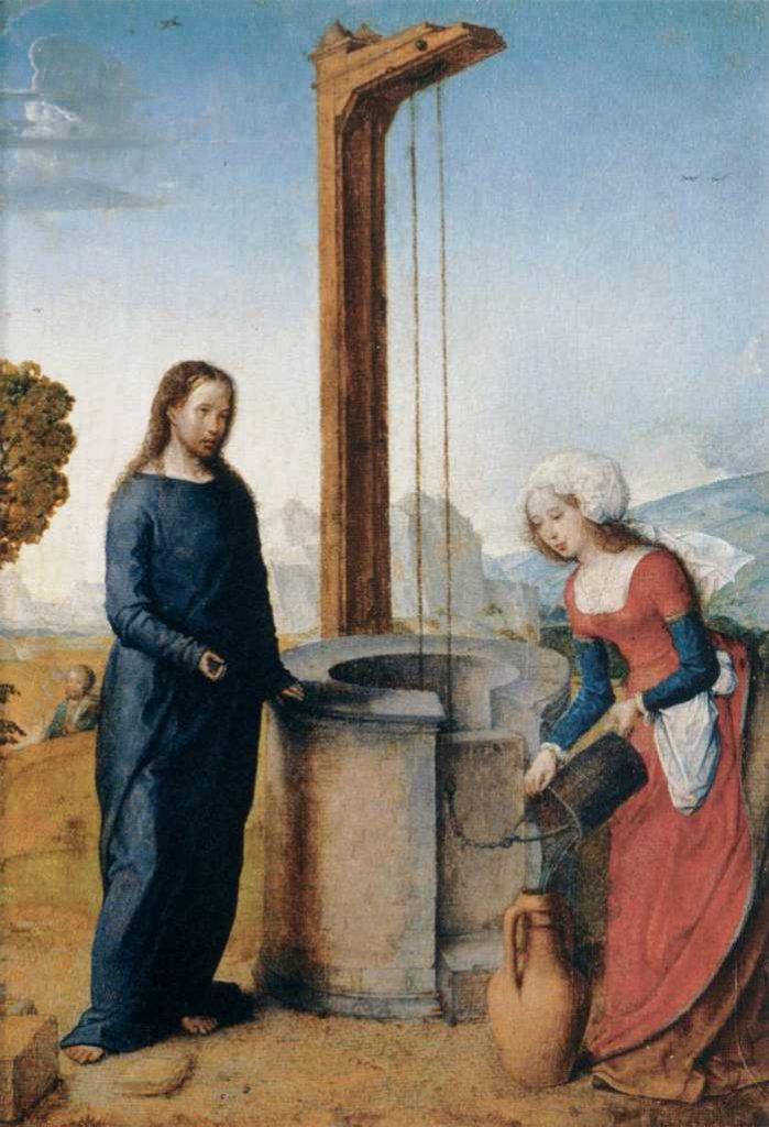 Flandes - obraz - Chrystus i samarytanka