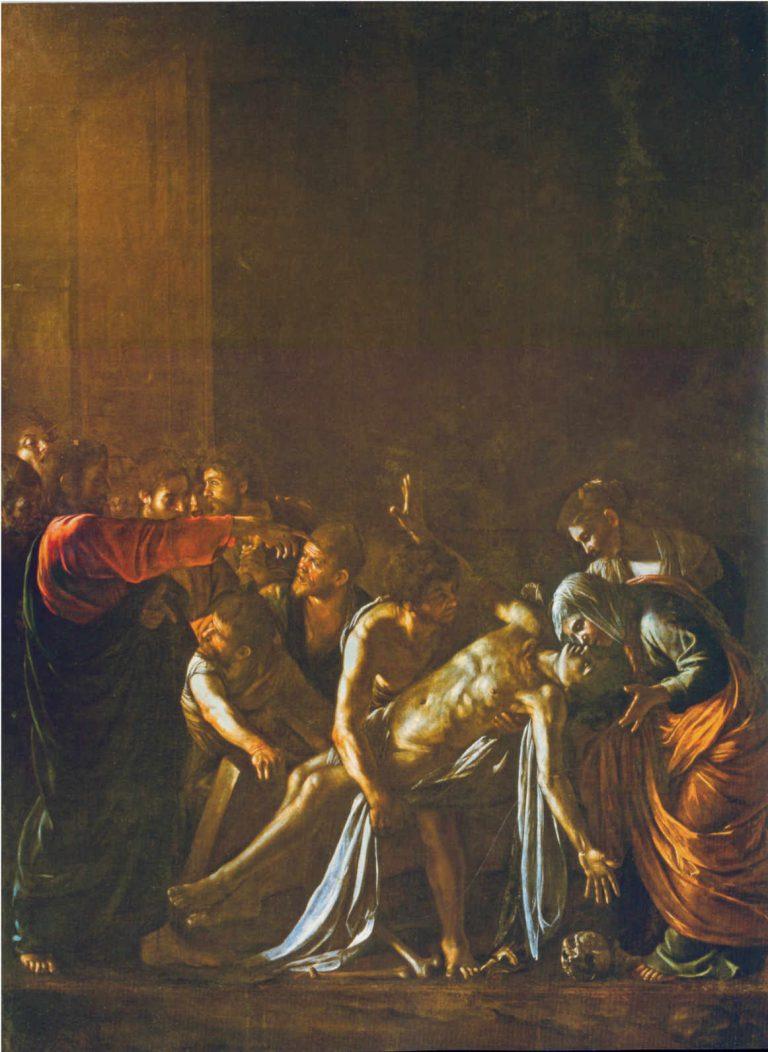 Obraz Caravaggio - Wskrzeszenie Łazarza