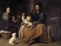 Święta Rodzina z ptaszkiem