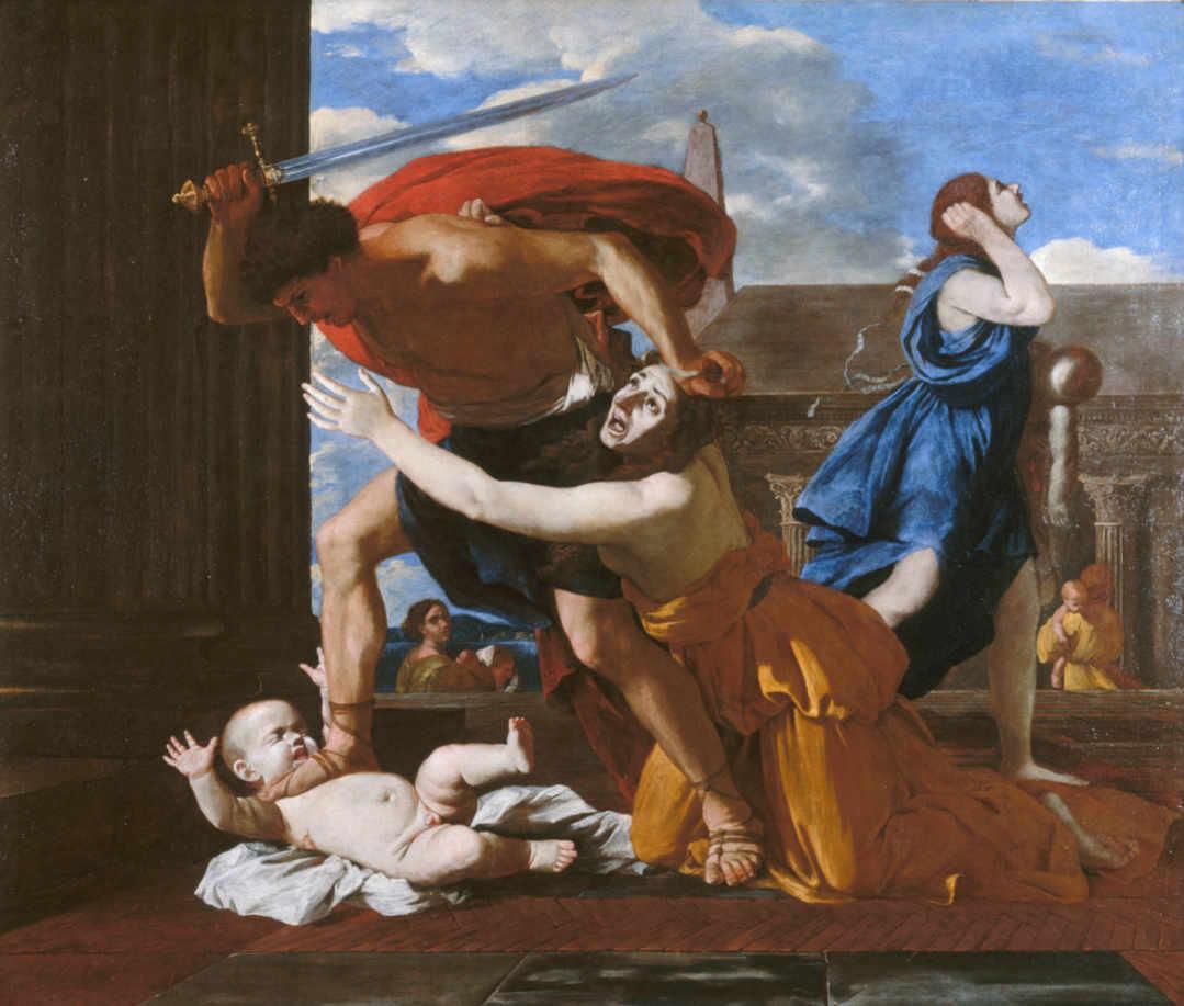 Poussin - Rzeź niewiniątek