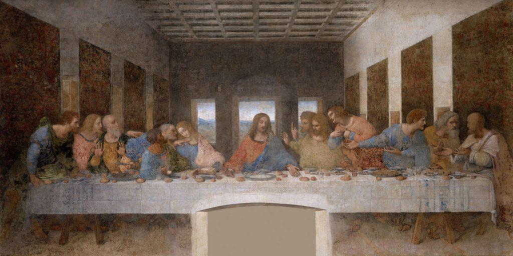 Ostatnia wieczerza - Leonardo da Vinci