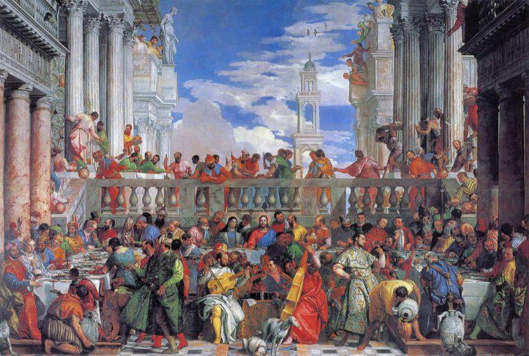 Veronese - Gody w Kanie Galilejskiej