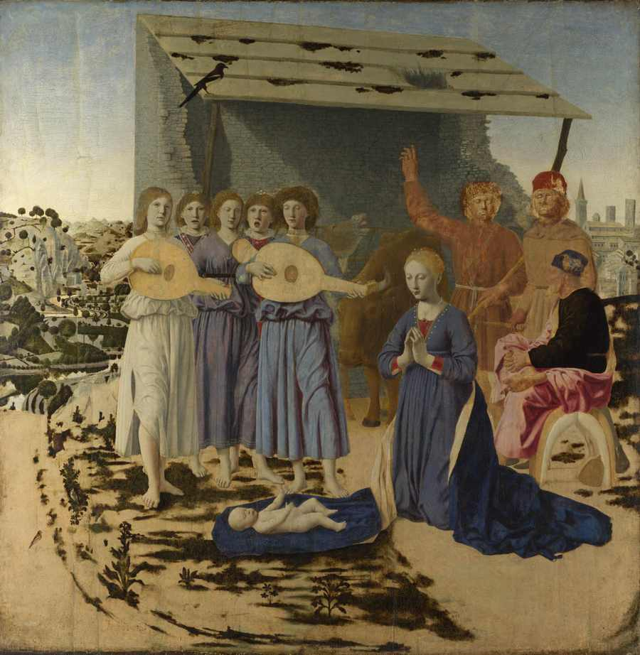 Obraz - Narodziny - Pierro della Francesca