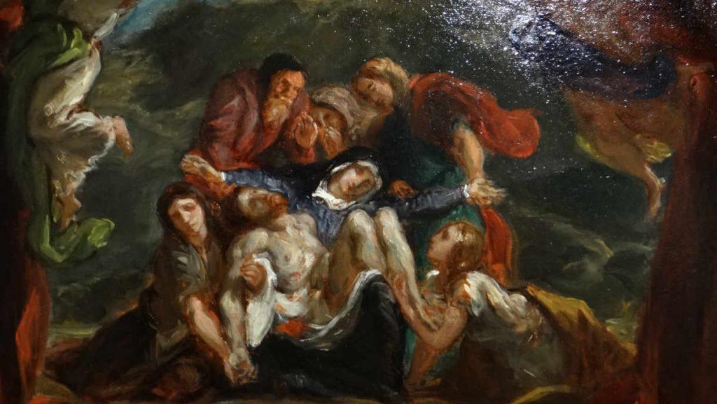 Pieta - Delacroix