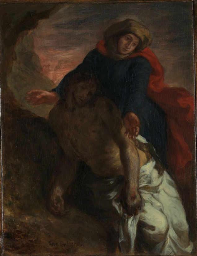 Obraz Delacroix - Pieta