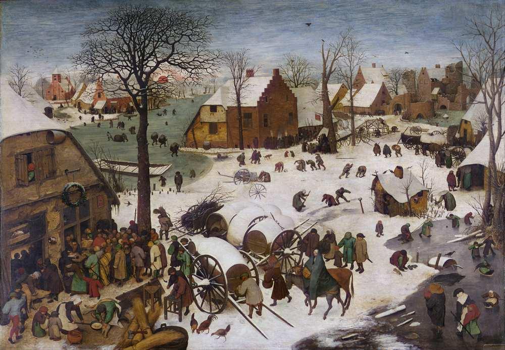 Spis ludności w Betlejem - Bruegel