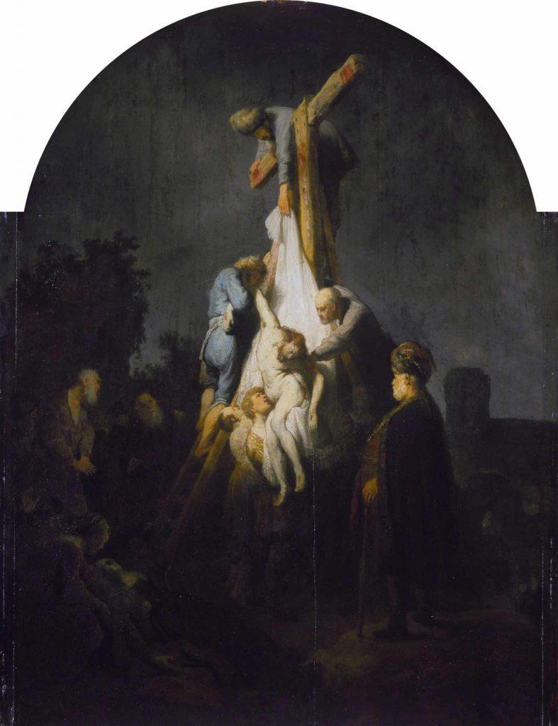 Rembrandt - Zdjęcie z krzyża - 1632
