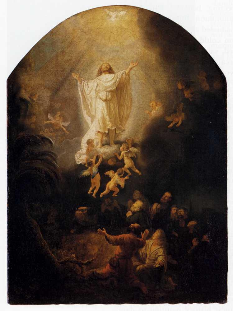 Rembrandt - Wniebowstąpienie