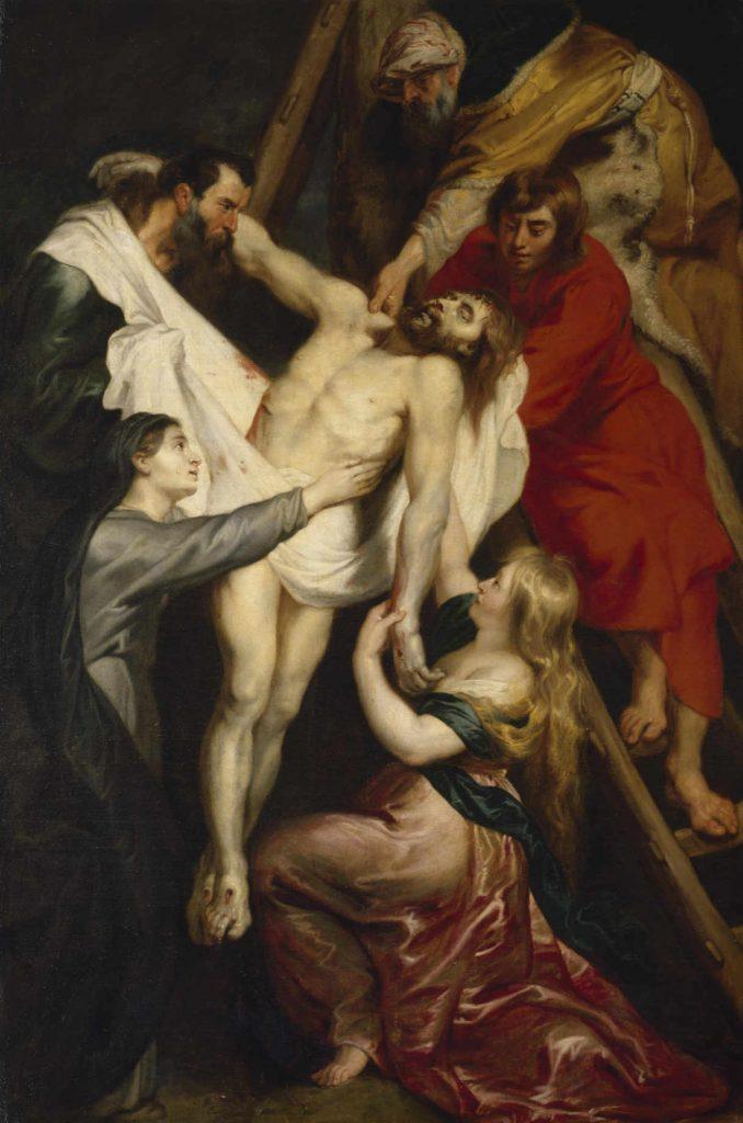 Rubens - Zdjęcie z krzyża