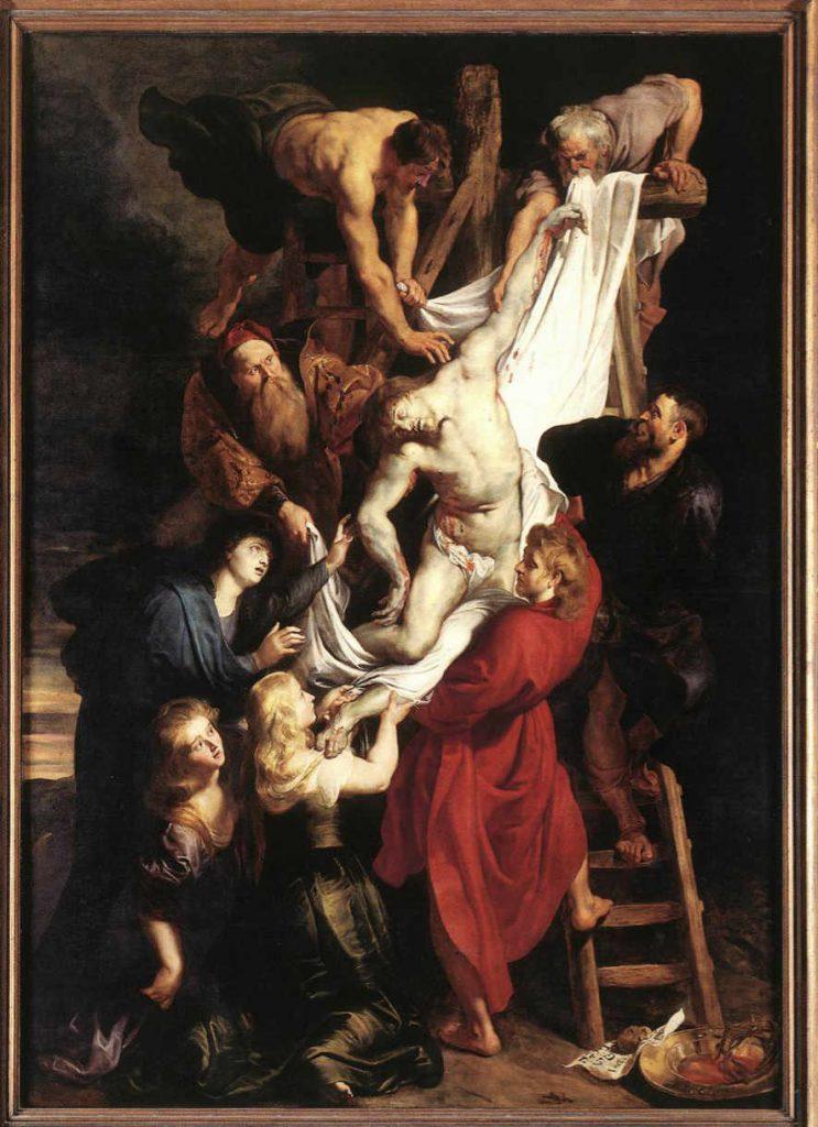 Rubens-zdjecie-z-krzyza-centralny-panel