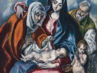 Święta Rodzina ze św. Anną i  Janem Chrzcicielem