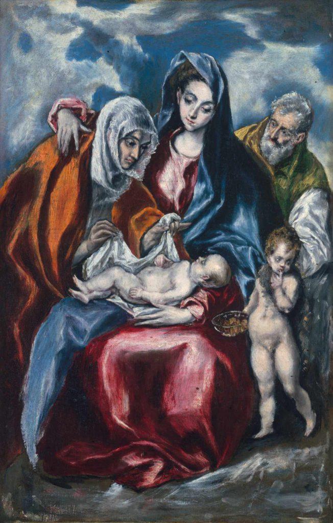 El Greco - Święta Rodzina
