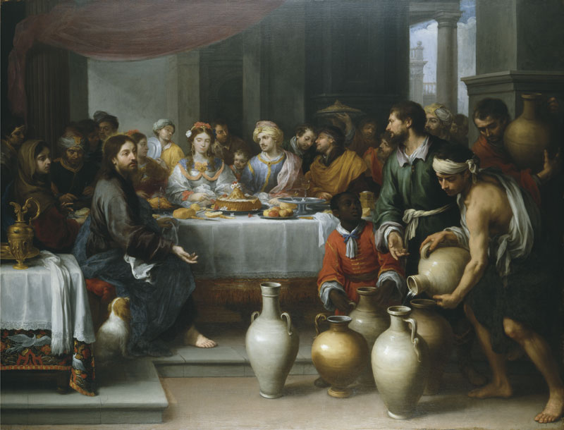 Murillo - obraz Gody w Kanie