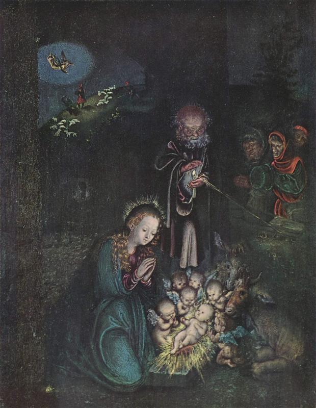 Cranach - Narodzenie