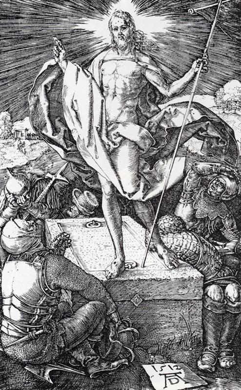 Zmartwychwstanie - Durer - 1512