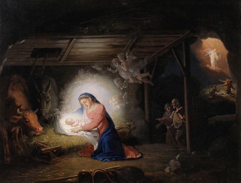 Borowikowski - Narodzenie Chrystusa