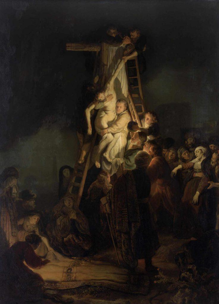 Rembrandt - Zdjęcie z krzyża -1634 - całość